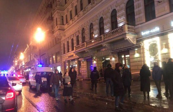 BMW убил двух пешеходов наНевском