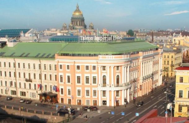 Самый дорогой отель России находится вПетербурге