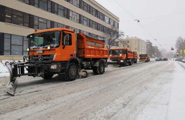 Бондаренко назвал причины проблемной уборки снега вПетербурге