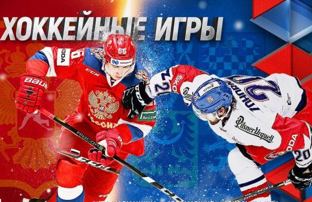 Сборная России похоккею победила команду Чехии