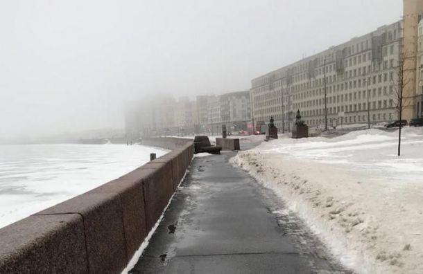 Смостов инабережных Петербурга засутки вывезли 300 кубометров снега