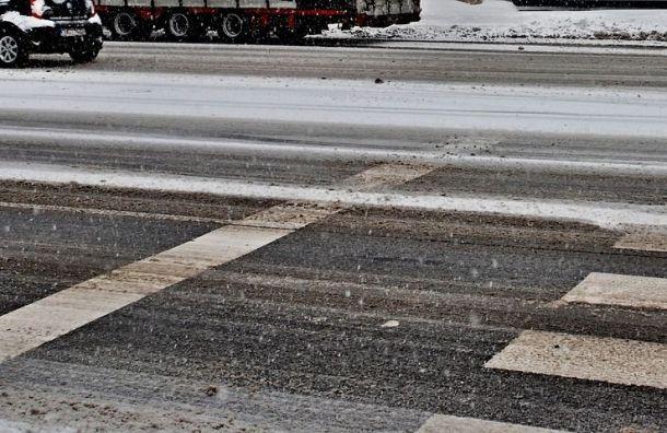Мокрый снег игололед ожидают петербуржцев 12февраля