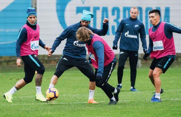 «Зенит» проведет открытую тренировку перед матчем с«Фенербахче»