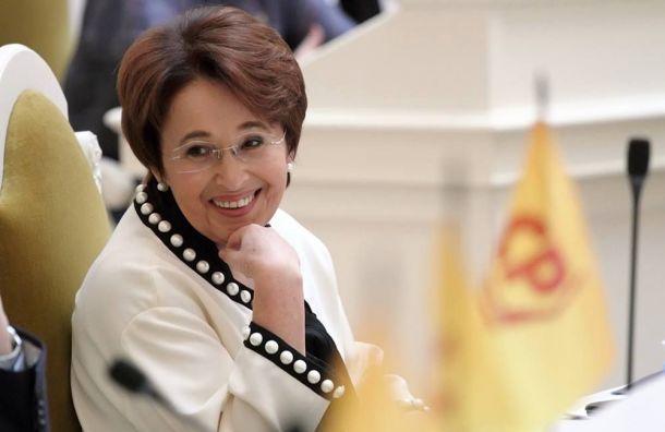 Оксана Дмитриева готова участвовать ввыборах губернатора Петербурга