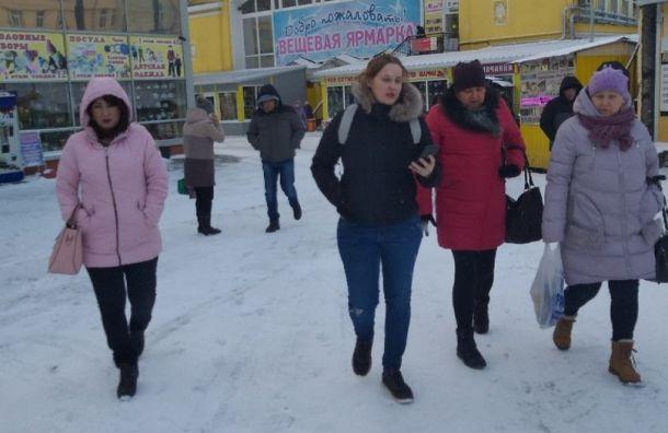 Эвакуирован Полюстровский рынок