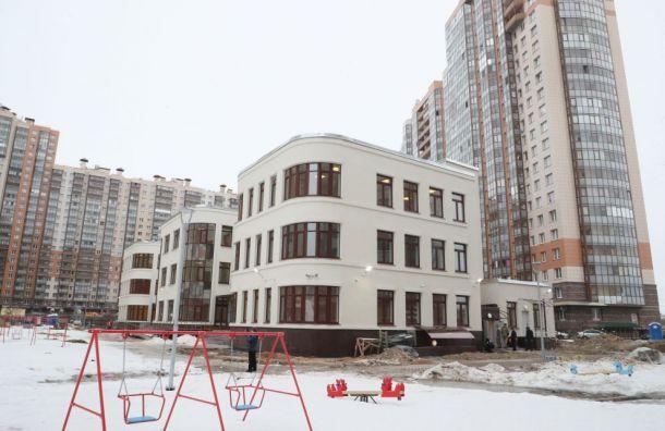 Беглов поручил открыть детский сад наПарашютной к25августа