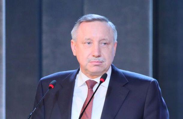 Беглов поздравил петербуржцев сДнем защитника Отечества