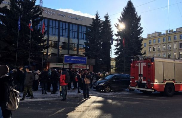 Хулиганы «заминировали» 205 объектов вПетербурге 21февраля