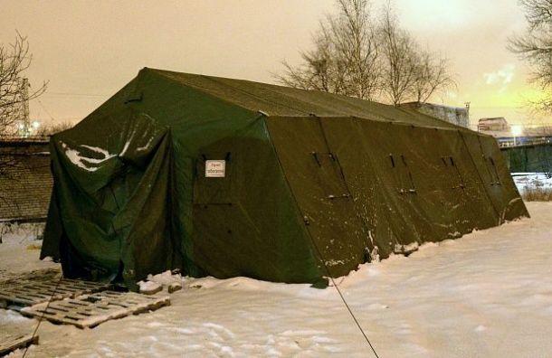 Четыре новых пункта обогрева для бездомных появились вПетербурге