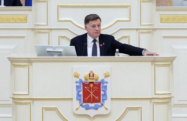 Макаров недал поднять вопрос обуборке снега вПетербурге