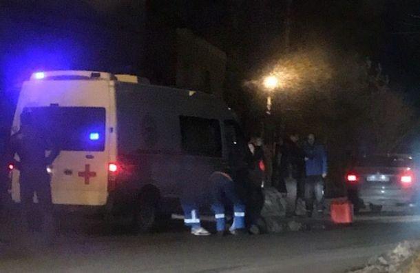 Иномарка насмерть сбила пешехода вКрасном Селе