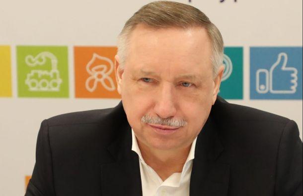 Беглов пообещал создать страничку «ВКонтакте»