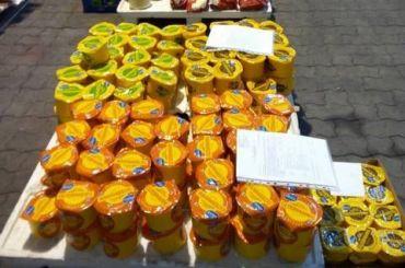 Тонну «санкционки» уничтожили наВыборгской таможне