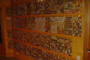Петербуржец продает коллекцию пивных пробок за590 тысяч рублей