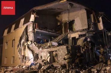 При взрыве газа вдоме вКрасноярске погибла женщина