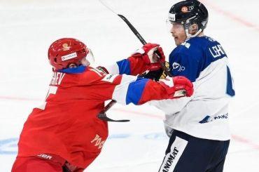 Сборная России похоккею победила Финляндию вЯрославле