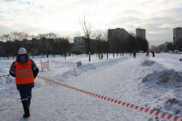 Трубу наБольшевиков прорвало четвертый раз зазиму