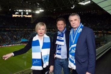 Медведев стал президентом «Зенита»