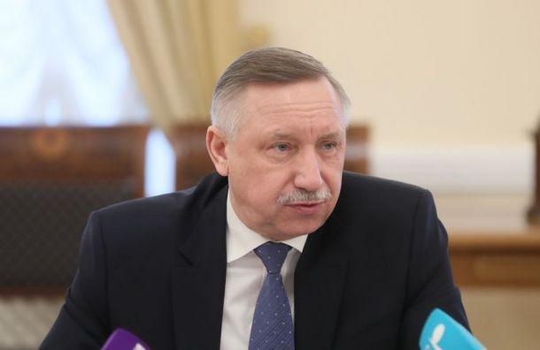 Беглов пообещал неиспользовать админресурс намуниципальных выборах