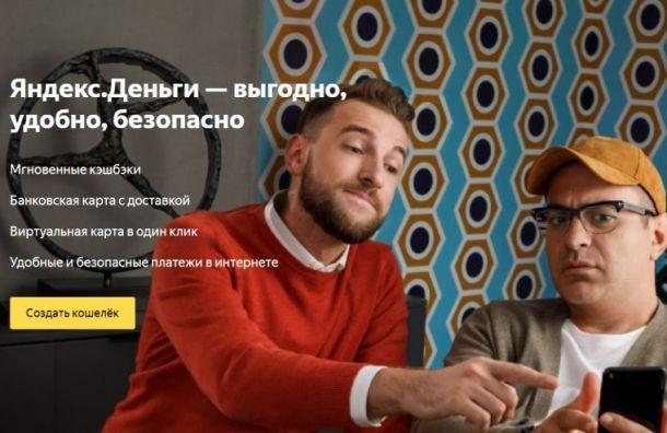 Петербуржцы отправляют через «Яндекс. Деньги» по3 тысячи рублей зараз