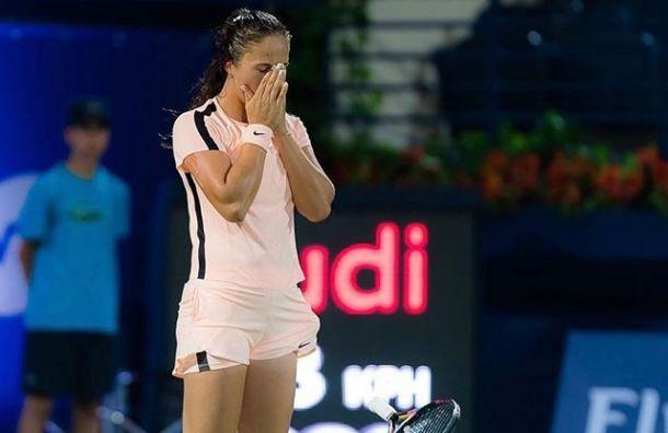 Касаткина проиграла вчетвертьфинале St. Petersburg Ladies Trophy
