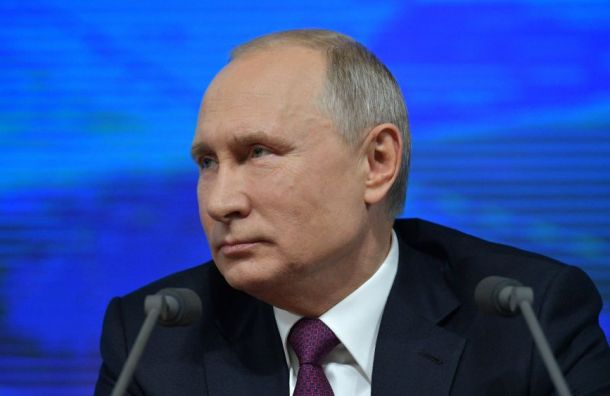 Путин опоздал на7 минут спосланием кФедеральному Собранию