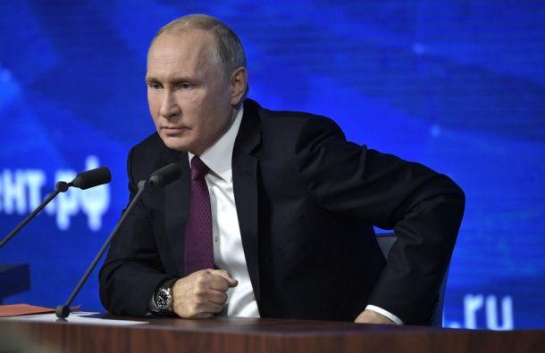 Путин подписал указ оприостановлении выполнения ДРСМД