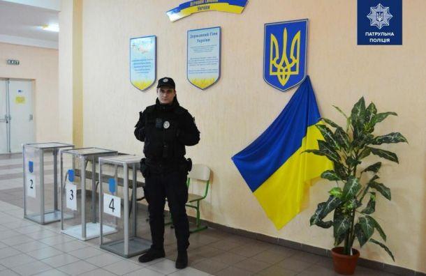 Явка избирателей навыборах президента Украины составила почти 50%