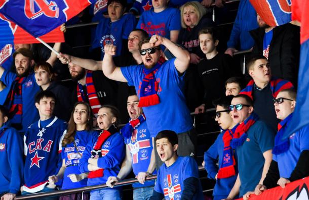 Фанаты «Спартака» подрались сболельщиками СКА