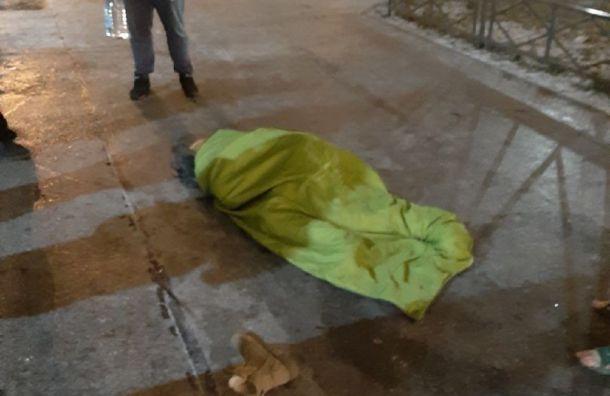Девушка упала свысоты вКрасносельском районе