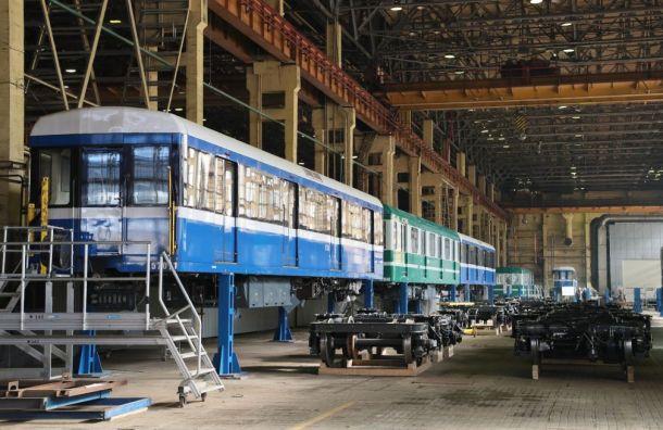 Петербург купит шесть новых составов метро за3,4 млрд рублей