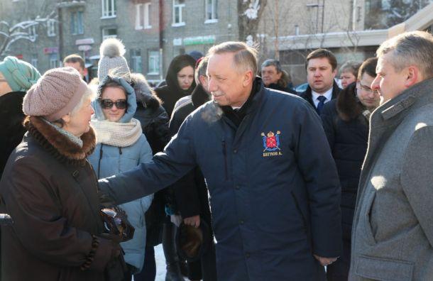 Беглов призвал молодежь закрашивать рекламу наркомагазинов