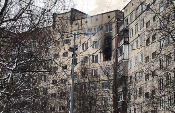 Двое погибли впожаре наЛенской