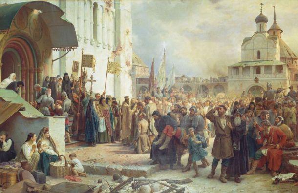 Русский музей представил новую экспозицию наместе картины Репина