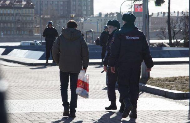 Задержан участник митинга «Петербургу— свободные выборы!»