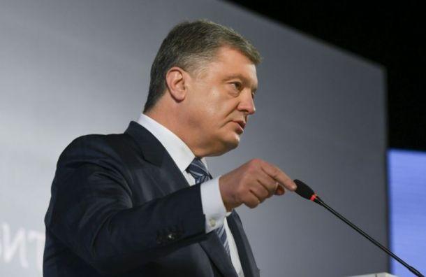 Порошенко пообещал вернуть Крым Украине сразу после выборов