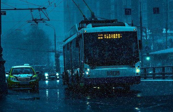 Изменится движения троллейбусов наВасильевском острове