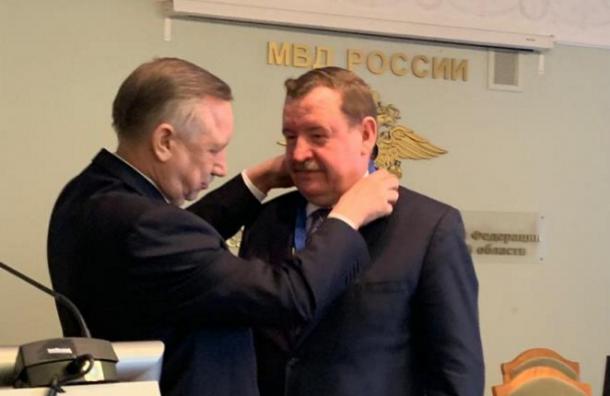 Беглов наградил Умнова зазаслуги перед Петербургом