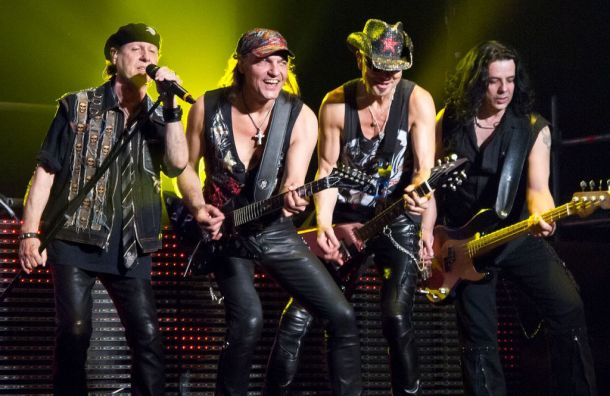 Scorpions выступят вПетербурге