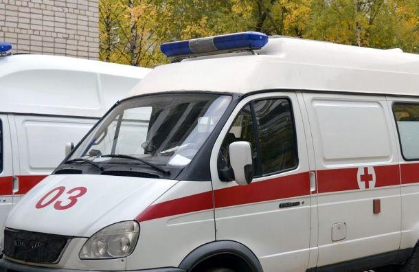 Молодой петербуржец попал под колеса BMW наМитрофаньевском шоссе