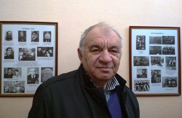 Юрий Вульф просит помочь записать аудиофайл сименами погибших вблокаду