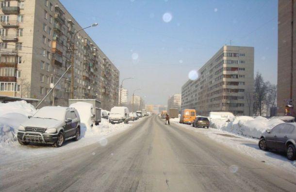 Началось строительство продолжения проспекта Ветеранов
