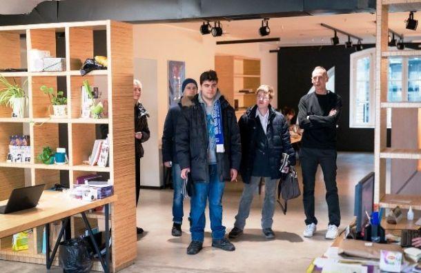 Студенты Центра «Антон тут рядом» узнали, как Манеж устроен изнутри