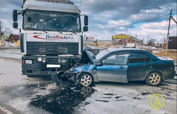 Подросток оказался вбольнице после ДТП сфурой наКиевском шоссе