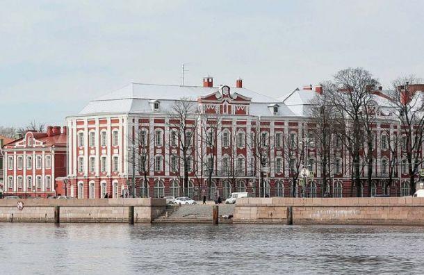 СПбГУ эвакуировали из-за сообщения обомбе