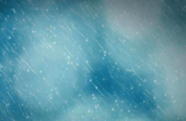 Петербург впонедельник ожидает мокрый снег сдождем