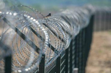 Латвия построила забор награнице сРоссией