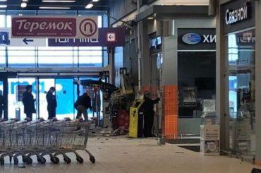 Неизвестные взорвали банкомат «Альфа банка» наПулковском шоссе