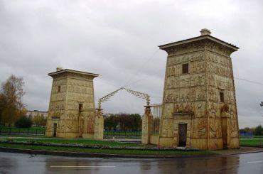 Площадь Египетские ворота появилась вПушкине