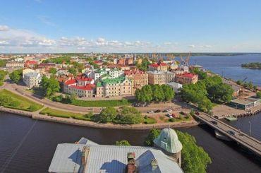 Выборг назвали самым популярным малым городом для весенних поездок